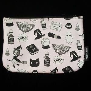 Ipsy Valfrie Black Magic Halloween Makeup Bag